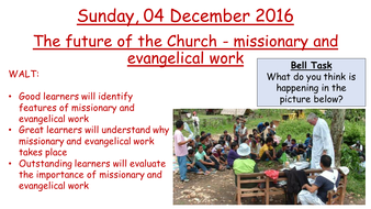 Edexcel 2016 New GCSE Year 10 Living the Christian Life - (The future of  the Church)