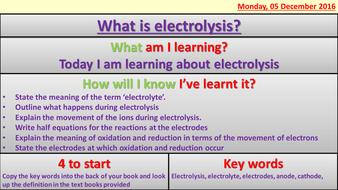 Edexcel 1-9 combined chemistry topic 10 (full topic)