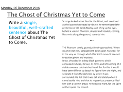 A Christmas Carol PEE/analytical paragraph lesson | Teaching Resources