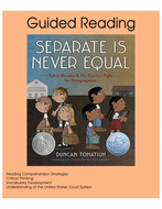 Separate is Never Equal - Guided Reading