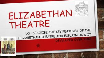 The Elizabethan Theatre - WJEC/EDUQAS GCSE History
