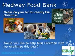 Charity Work Collect For The Foodbank