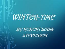 winter time robert louis stevenson analysis