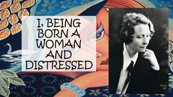 i being born a woman and distressed