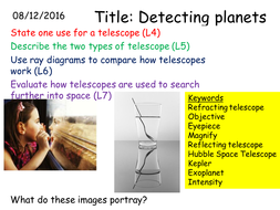 P3 3.1 Detecting Planets