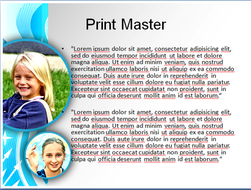 school kids powerpoint template by templatesvision com teaching