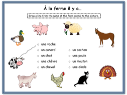 french farm animals lesson and resources ks1 2 by mrspomme teaching resources. Black Bedroom Furniture Sets. Home Design Ideas