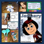 STEM Center Challenges - January STEAM