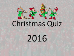 Big Christmas Trivia Quiz