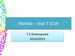Matilda KS3 SOW