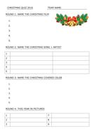 Christmas 2016 Quiz by teachgeogblog | Teaching Resources