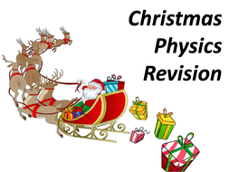 Christmas Revision - GCSE Energy