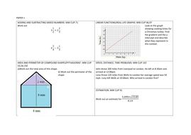 GCSE 9-1 Edexcel Mocks Revision (Higher P1,2 & 3)