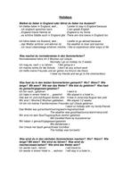 GCSE German Speaking Preparation - Holidays