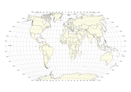 Photos World Map.World Map With Latitude Longitude Grid By Swintrek Teaching
