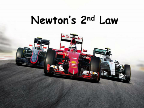 New AQA GCSE Physics Newton's 2nd Law Lesson