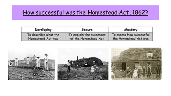 How successful was the Homestead Act?