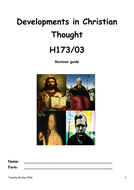 DEVELOPMENTS-IN-CHRISTIAN-THOUGHT---REVISION-GUIDE.doc