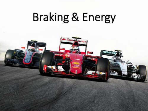 New AQA GCSE Physics Braking Energy Lesson