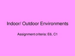 Indooroutdoor--twenty-second-march.ppt