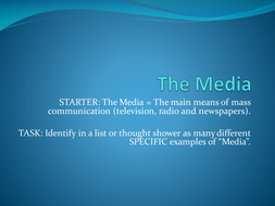 KS3: Introduction to the Media - Travel Brochure Project