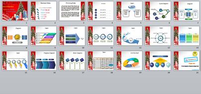 Merry christmas powerpoint template by templatesvision teaching merry christmas powerpoint template all slidesg toneelgroepblik Gallery