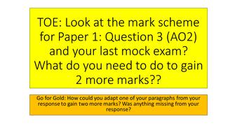 AQA Paper 1: Question 3 (Structure)
