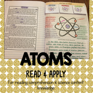 Atoms Read and Apply Activity