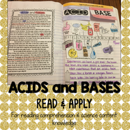 Acids and Bases Read and Apply Activity