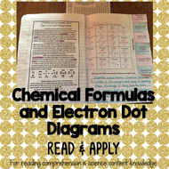 Chemical Formulas and Electron (Lewis) Dot Diagrams Read and Apply Activity
