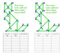 Gcse French Worksheets Pdf Angle Types  Naming Angles By Their Vertex And Endpoints  Pollination Worksheet For Kids Word with Planet Earth Pole To Pole Worksheet Excel Acuterightandobtuseanglesworksheetwithtable  4th Grade Common Core Worksheets Word