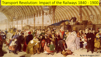 What impact did the railways have on Britain 1840 - 1900?