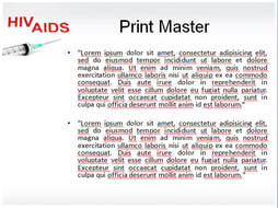 Hiv aids ppt template by templatesvision teaching resources tes hiv aids ppt template 3g toneelgroepblik Images