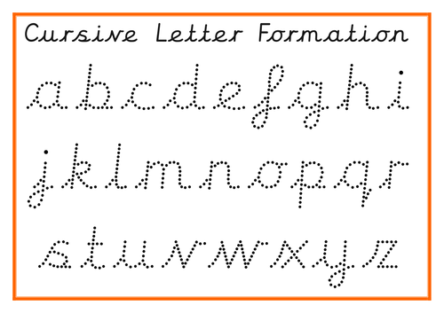 Image result for letter formation cursive