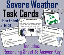 Severe Weather Task Cards
