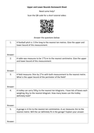 Number QR Code Homework Sheets - Bundle 3