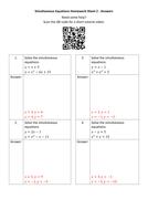Simultaneous-Equations-Homework-Sheet-2---Answers.docx