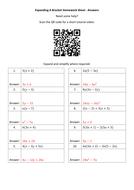 Expanding-A-Bracket-Homework-Sheet---Answers.docx