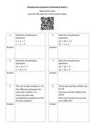 Simultaneous-Equations-Homework-Sheet-1---Questions.docx