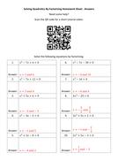 Solving-Quadratics-By-Factorising-Homework-Sheet---Answers.docx