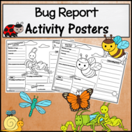 Bug Research Activity Posters