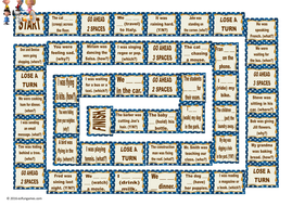Past-Continuous-Tense-Animated-Board-Game-Peanuts-AV.pps
