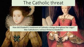 Elizabeth and Catholics
