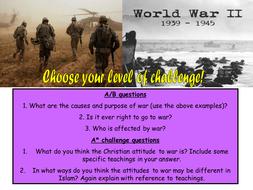was world war two a just war