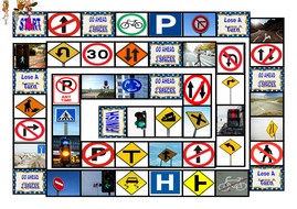 Road-Signs-Directions-Animated-Board-Game-Flinstones.pps