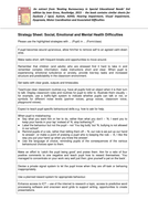 Strategy Sheet - Social, Emotional and Mental Health Needs by Jean Gross