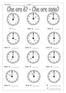 italian che ora che ore sono by labellaromaForChe Ore Sono A Detroit