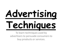Introduction to advertising - GCSE Media