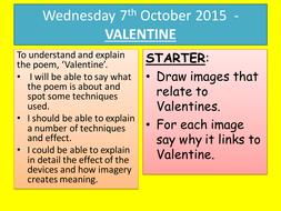 imagery in poem in october