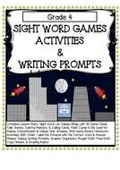 Sight Word Games, Activities & Writing Prompts (Grade 4)